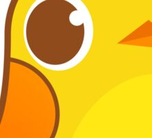 Cute Yellow Chick Sticker