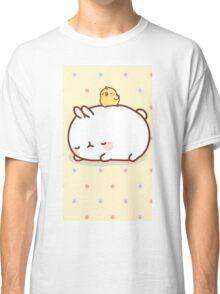kawaii sleepy molang Classic T-Shirt
