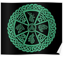 Celtic Nature Poster