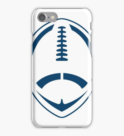 Blue Vector Football iPhone Case/Skin