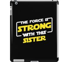 Force Sister iPad Case/Skin