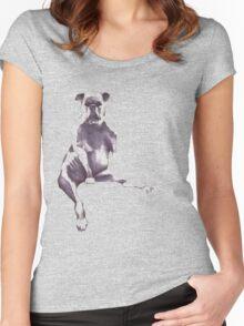 puppert Women's Fitted Scoop T-Shirt