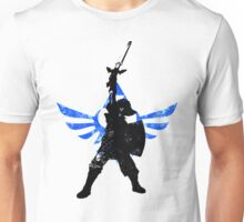 Skyward Stance - Blue Unisex T-Shirt