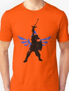 Skyward Stance - Blue Unisex T-Shirt
