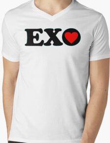 ♥♫I Love EXO Fabulous K-Pop Clothes & Stickers♪♥ Mens V-Neck T-Shirt