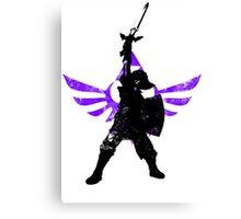 Skyward Stance - Purple Canvas Print