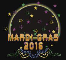 2016 Mardi Gras New Orleans NOLA 2016 Baby Tee