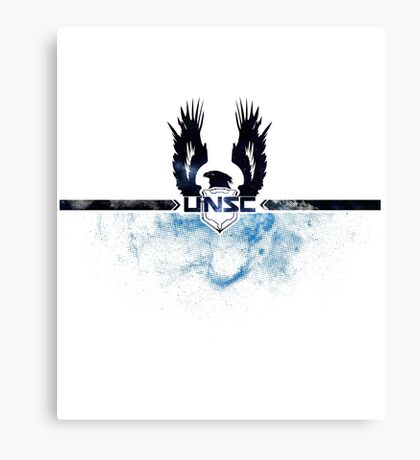 UNSC - Halo Canvas Print