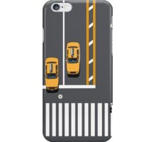 New York Street Illustration iPhone Case/Skin