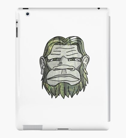 GREEN YETI iPad Case/Skin