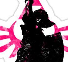 Skyward Stance - Pink Sticker