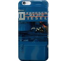 Fordson Major Diesel Tractor engine iPhone Case/Skin
