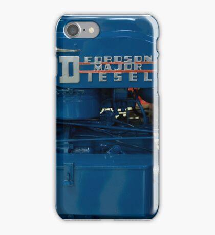 Fordson Major Diesel Tractor engine iPhone Case/Skin