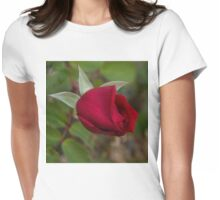 A Ruby Red Promise Womens Fitted T-Shirt