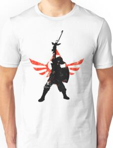 Skyward Stance - Red Unisex T-Shirt