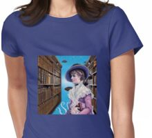 Submarines in the Library Womens Fitted T-Shirt