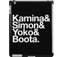 Fight the Power - Gurren Lagann goes Helvetica iPad Case/Skin