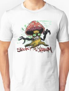 The Face of Spooky Mushroom Unisex T-Shirt