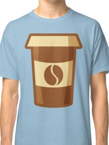 Fancy Paper Coffee Cup Classic T-Shirt