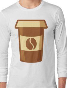 Fancy Paper Coffee Cup Long Sleeve T-Shirt