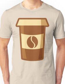 Fancy Paper Coffee Cup Unisex T-Shirt