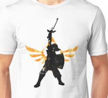 Skyward Stance - Orange Unisex T-Shirt