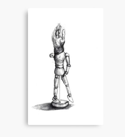 sketch doll Canvas Print