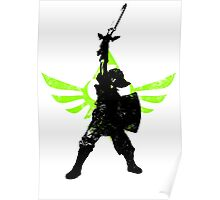 Skyward Stance - Green Poster