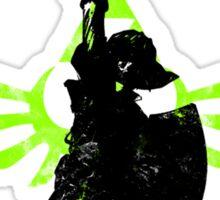 Skyward Stance - Green Sticker