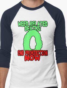 End prohibition now  Men's Baseball ¾ T-Shirt