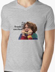 So Freakin' Excited - SNL Mens V-Neck T-Shirt