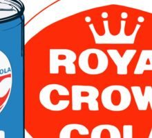 ROYAL CROWN COLA 7 Sticker