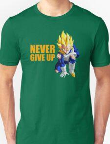 Vegeta - Never Give Up Dragon Ball T-Shirt
