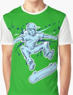 skater hand draw  Graphic T-Shirt