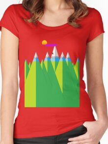 Climb Women's Fitted Scoop T-Shirt