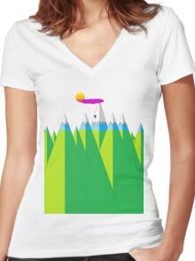 Climb Women's Fitted V-Neck T-Shirt