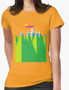 Climb Womens Fitted T-Shirt