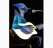 **¨*•MY BLUE JAY PLAYING GUITAR AND SINGING ME A SONG PICTURE /CARD>> ALSO ANIMATED HIM **¨*• Unisex T-Shirt