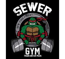 Sewer Gym Photographic Print