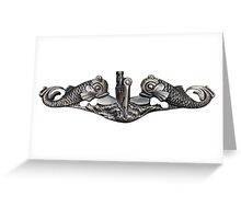 Submarine Warfare Specialist Greeting Card