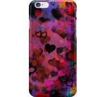 Passionate Hearts  iPhone Case/Skin