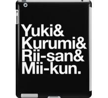 School Living Club x Helvetica iPad Case/Skin