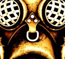 Steampunk/Cyberpunk Gas Mask #1D Sticker