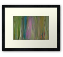 Soft Abstract World Framed Print