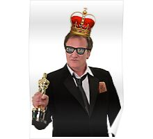 Quentin Tarantino Thug King Poster