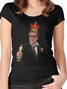 Quentin Tarantino Thug King Women's Fitted Scoop T-Shirt