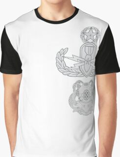 Master EOD Diver 1st Class Graphic T-Shirt