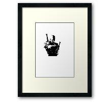 Geralt Framed Print
