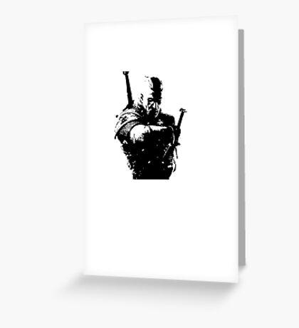 Geralt Greeting Card