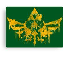 Skyward Symbol - Green BG Canvas Print